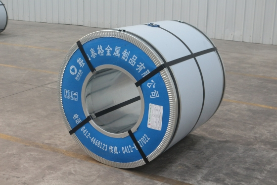 Production of color coated sheet